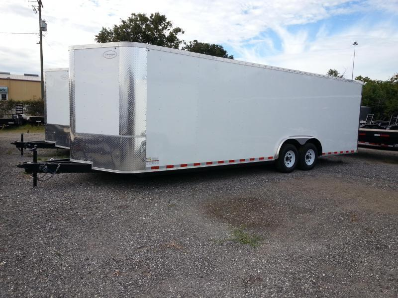 8.5x24x66 Enclosed Cargo Carhauler motorcycle