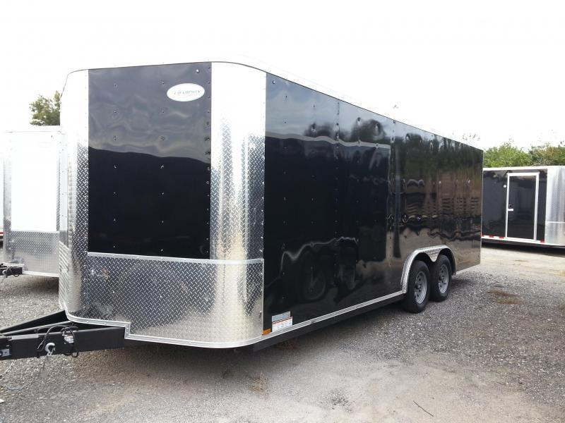 Arising 8.5x20x6'6 5.2k Axle Enclosed Cargo Trailer