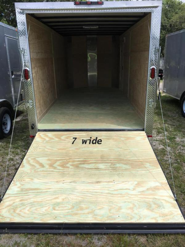 2019 Arising 7x16x7 Enclosed Cargo Trailer