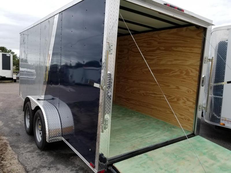 Arising 7x16x6 Enclosed Cargo Trailer Motorcycle trailer storage