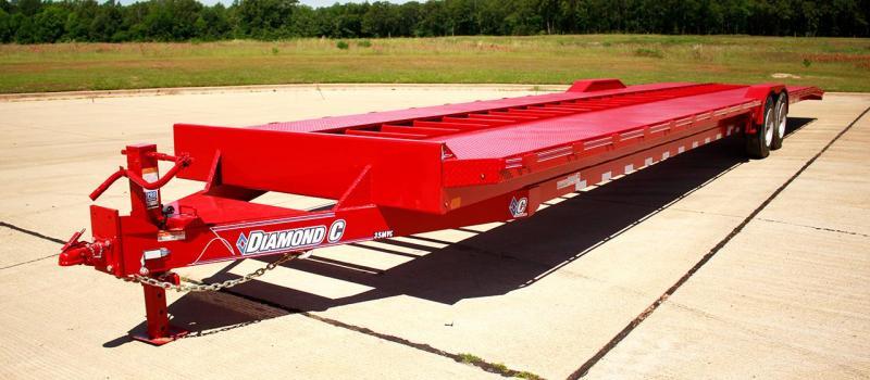 "2019 Diamond C Trailers 30'x82"" MVC Multi Car / Racing Trailer  Multi-Vehicle Carrier"