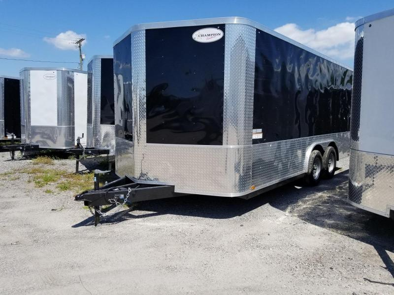 "8.5x16x6'6 Arising Enclosed 24"" ATP SIDES & REAR Trailer Crago Carhuler"