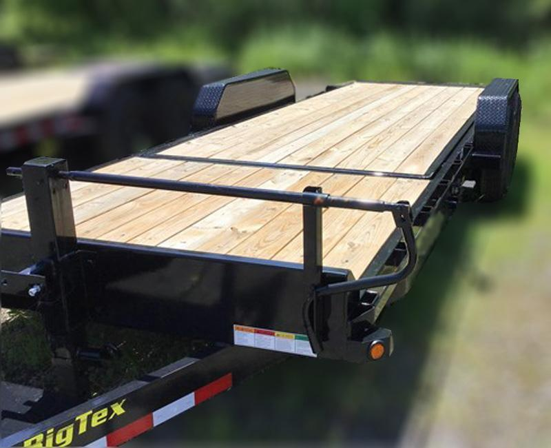 Big Tex Trailers 14TL-20' Equipment Trailer 16' TILT Deck