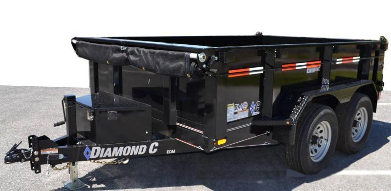 "Diamond C Trailers EDM 60""X10 Dump Trailer"