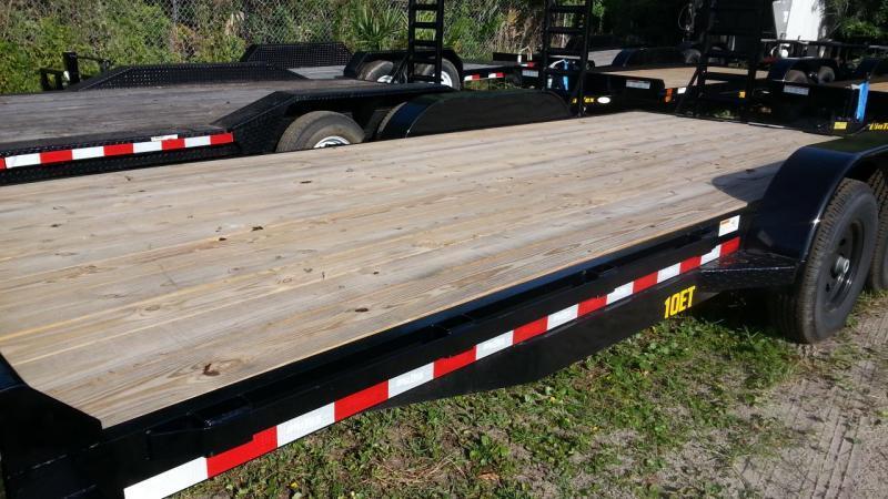 Big Tex Trailers 10ET-20' Small Equipment Trailer 5.2k axles