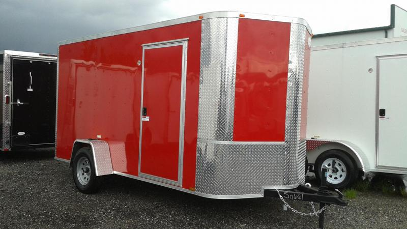 2020 Arising 6x12x6 Enclosed Cargo Trailer