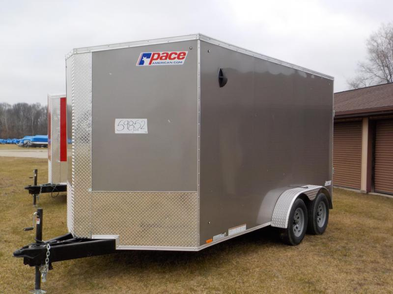 2021 Pace American Journey 7X14 SE Enclosed Cargo Trailer