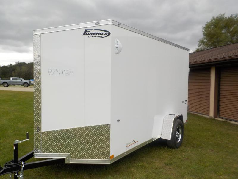 2020 Formula Trailers Triumph 6X12 Enclosed Cargo Trailer
