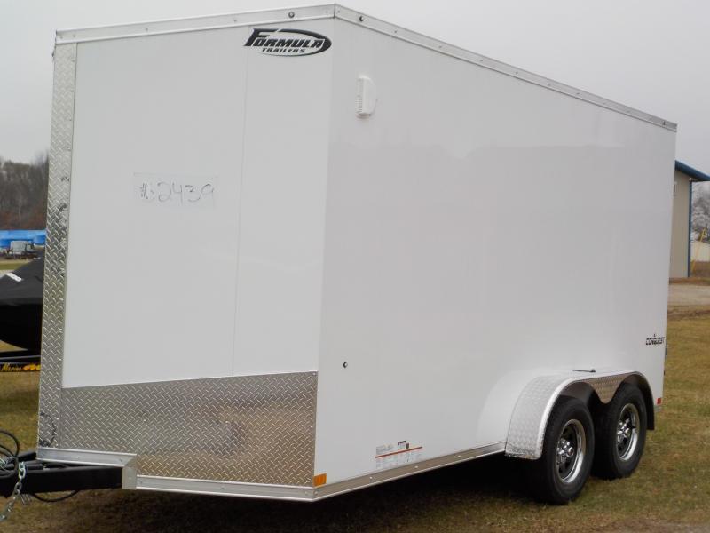 2020 Formula Trailers Conquest 7X14 Enclosed Cargo Trailer