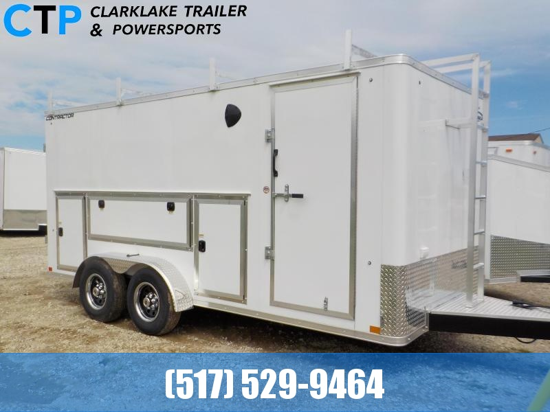 2021 Formula Trailers Contractor Enclosed Cargo Trailer
