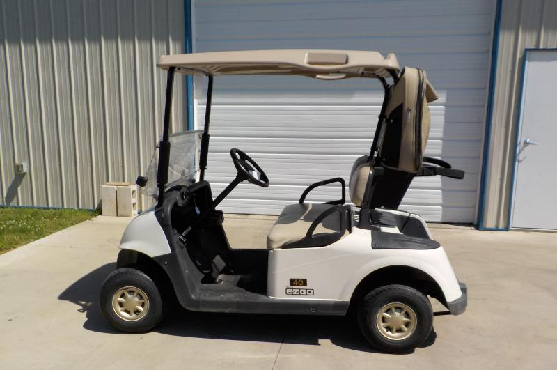 2012 EZ-GO Used Electric RXV Golf Cart