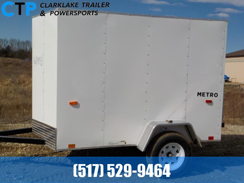 2021 Pace American Metro 5X8 Enclosed Cargo Trailer