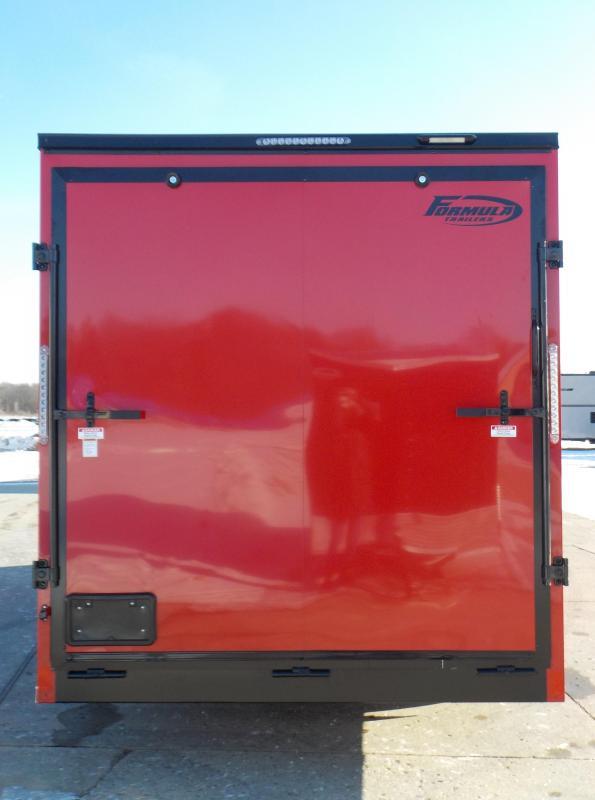 2021 Formula Trailers Triumph Blackout 7X18 Enclosed Cargo Trailer