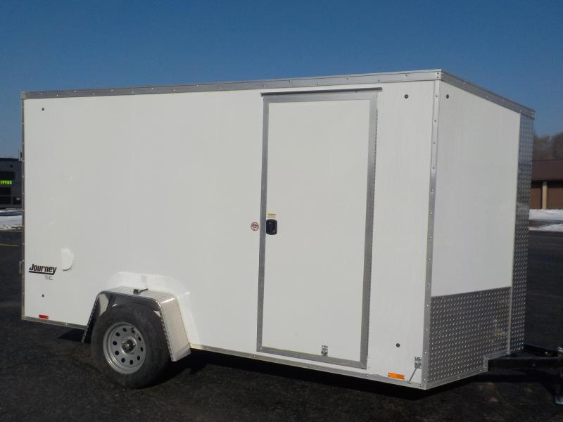 2020 Pace American Journey SE 6x12 Cargo Enclosed Cargo Trailer