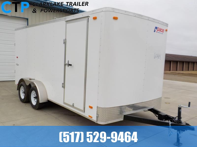 2021 Pace American Outback 7X16 Cargo / Enclosed Trailer