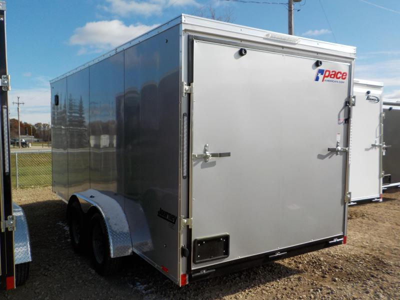 2020 Pace American Journey SE 7X16 Enclosed Cargo Trailer