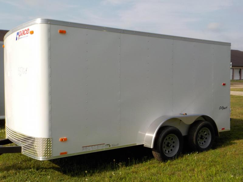 2020 Pace American Outback 7X14 Enclosed Cargo Trailer