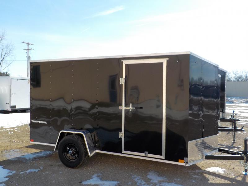 2021 Pace American Traverse 6x12 Enclosed Cargo Trailer