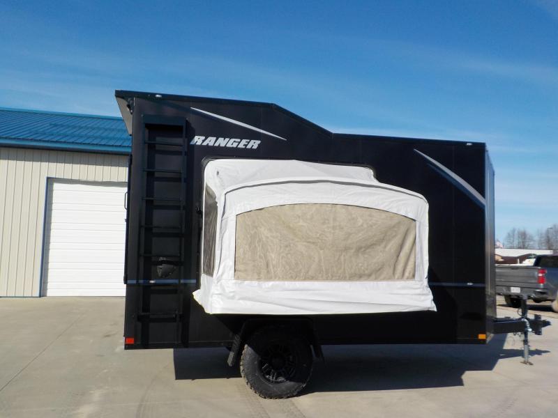 2021 Formula Trailers Other Ranger Off Grid - Black Out Toy Hauler RV