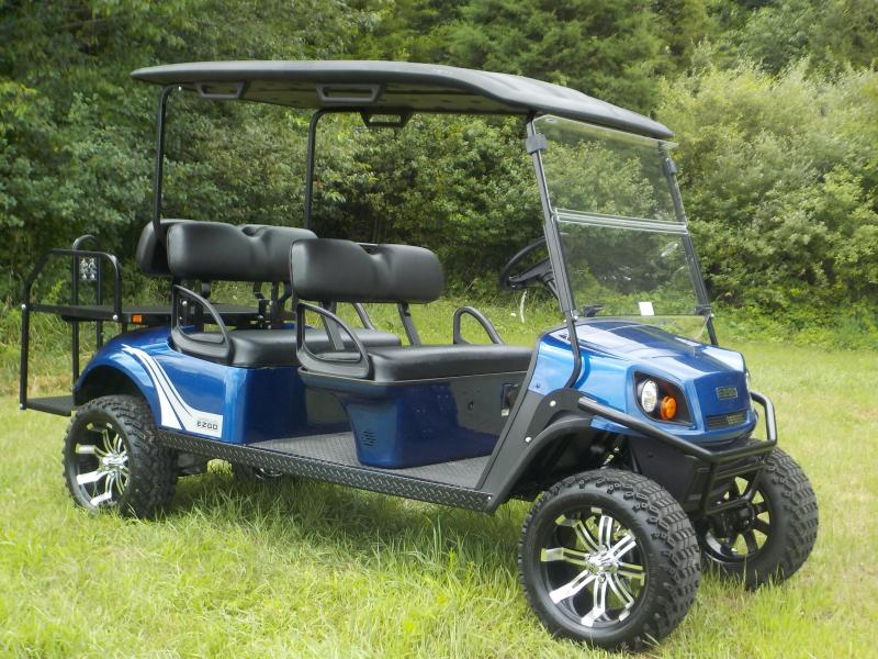 2019 EZ-GO Express L6 G-EFI Six Person Golf Cart