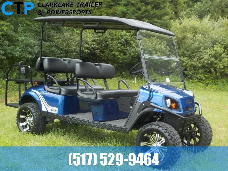 2019 EZ-GO Express L6 72V Electric Six Person Golf Cart