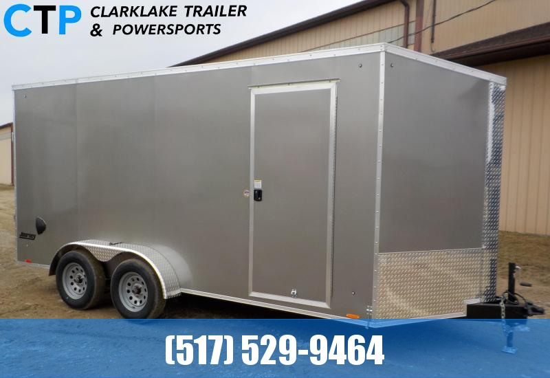 2021 Pace American Journey SE 7X16 Enclosed Cargo Trailer
