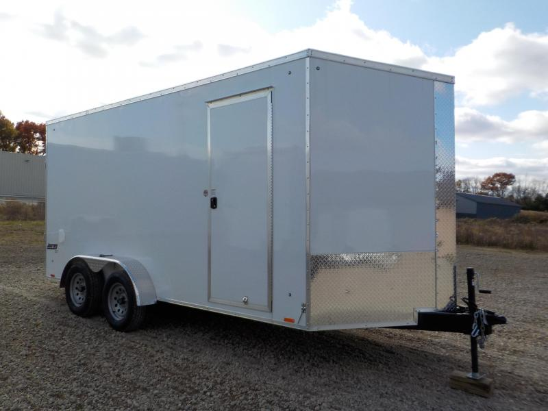 2020 Pace American JOURNEY 7X16 Enclosed Cargo Trailer