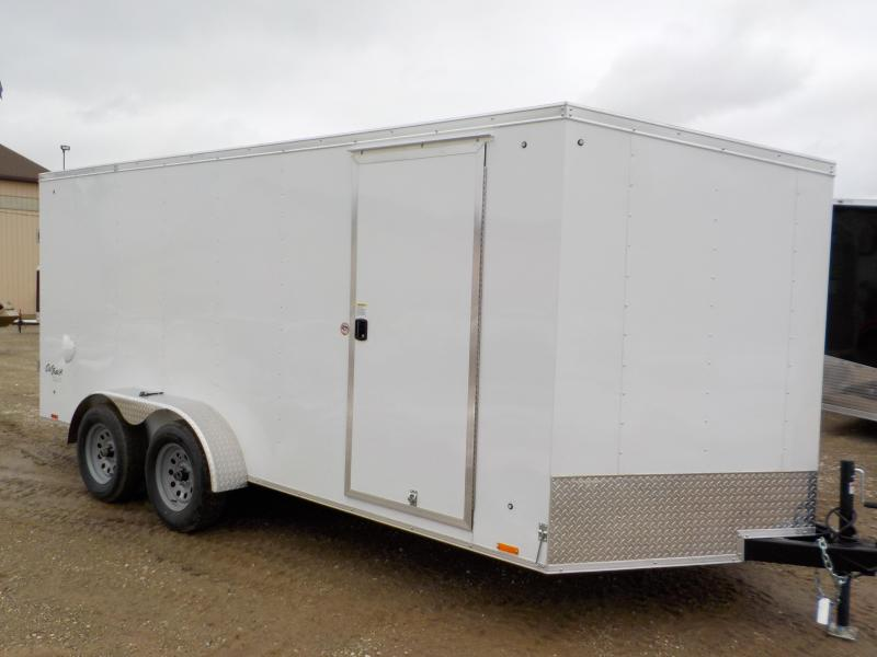 2021 Pace American Outback 7X16 Cargo Deluxe Cargo / Enclosed Trailer