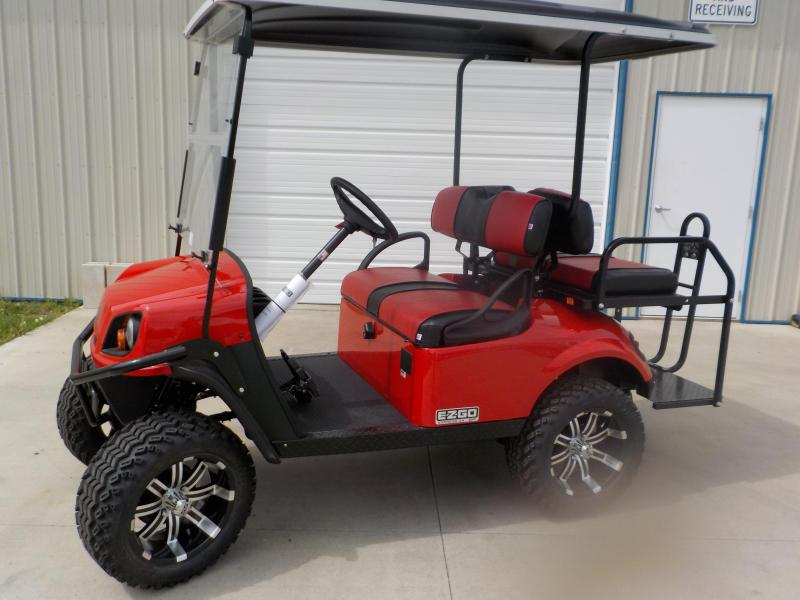 2019 E-Z-GO Express S4 G-EFI Golf Cart