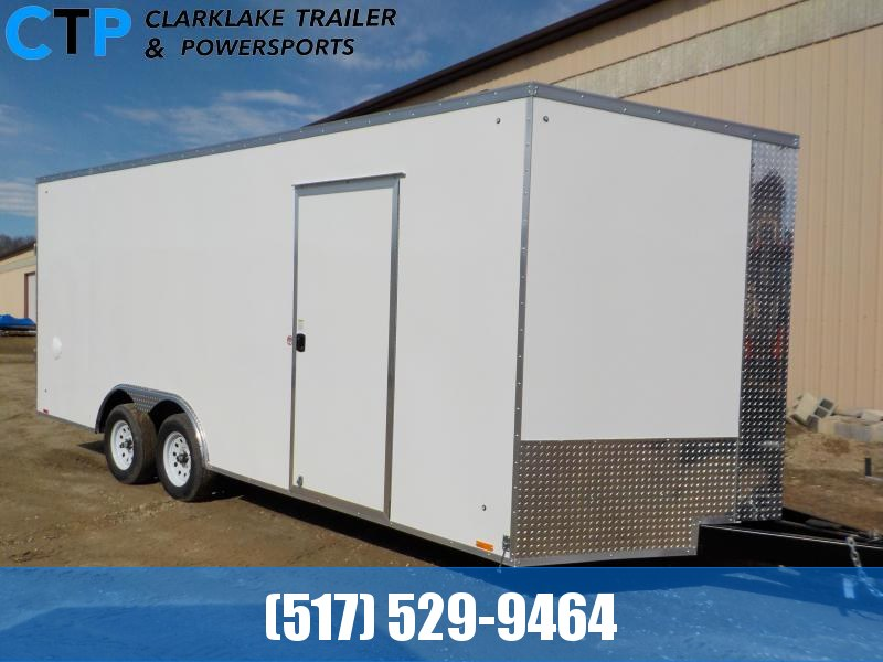 2021 Pace American Journey 8.5 X 20 Enclosed Cargo Trailer