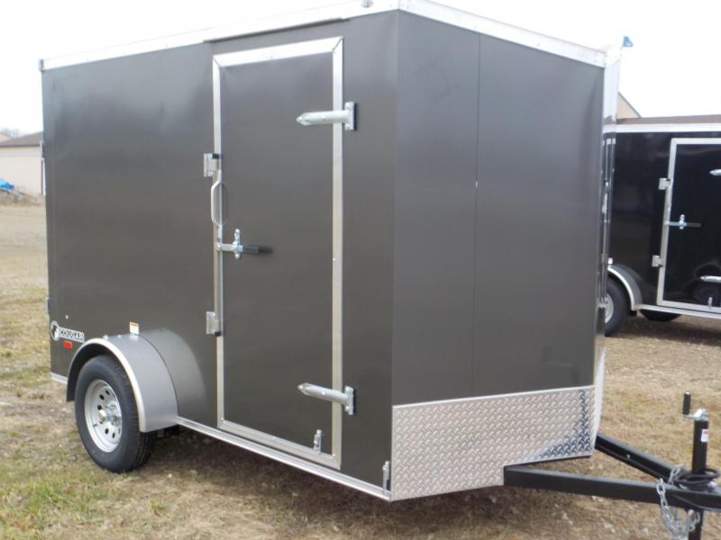 2020 Haul-About Cougar 6X10 Enclosed Cargo Trailer
