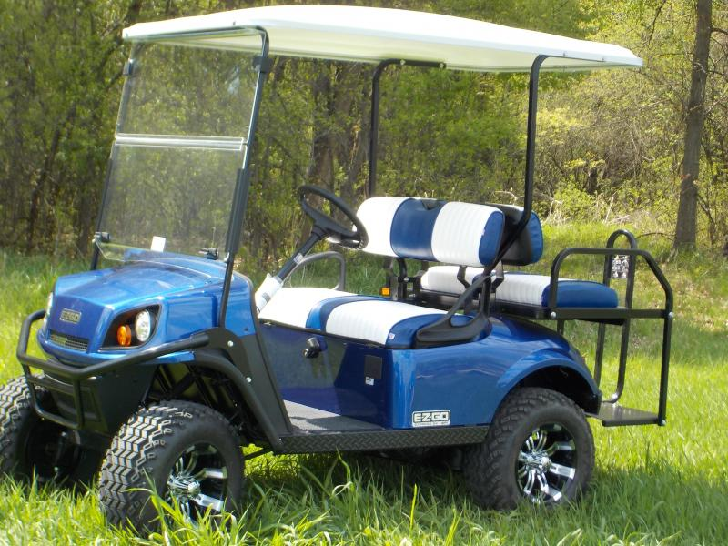 2019 EZ-GO Express S4 G-EFI Golf Cart