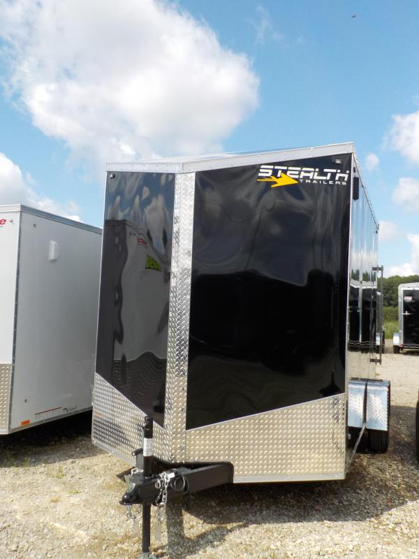 2020 Stealth Trailers Titan Series 7X12 Enclosed Cargo Trailer