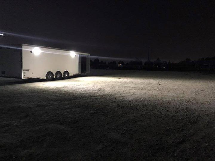 2020 BATHROOM HAULMARK EDGE PRO Car / Racing Trailer