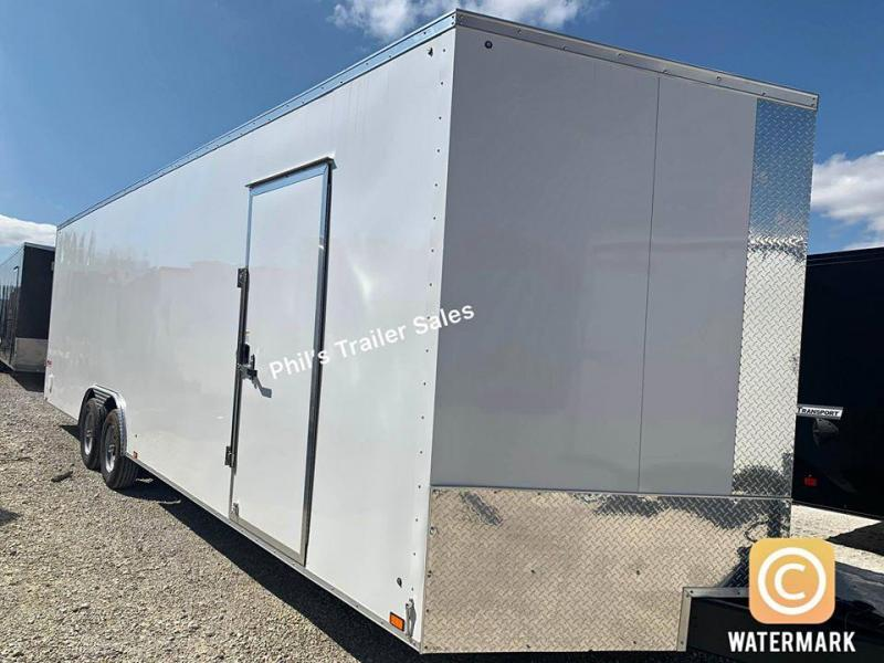 Pace American 8.5X28 7'  Slant Nose Enclosed Cargo Trailer