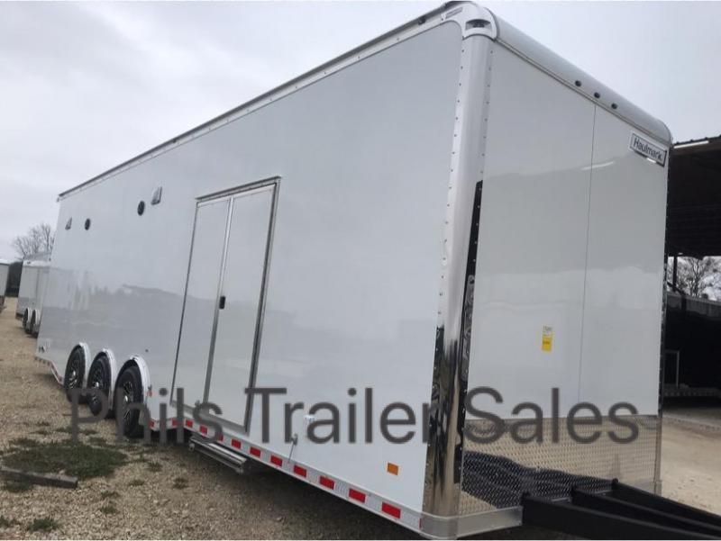 32 9' 4 interior  Haulmark EDGE PRO SPRINT Car / Racing Trailer
