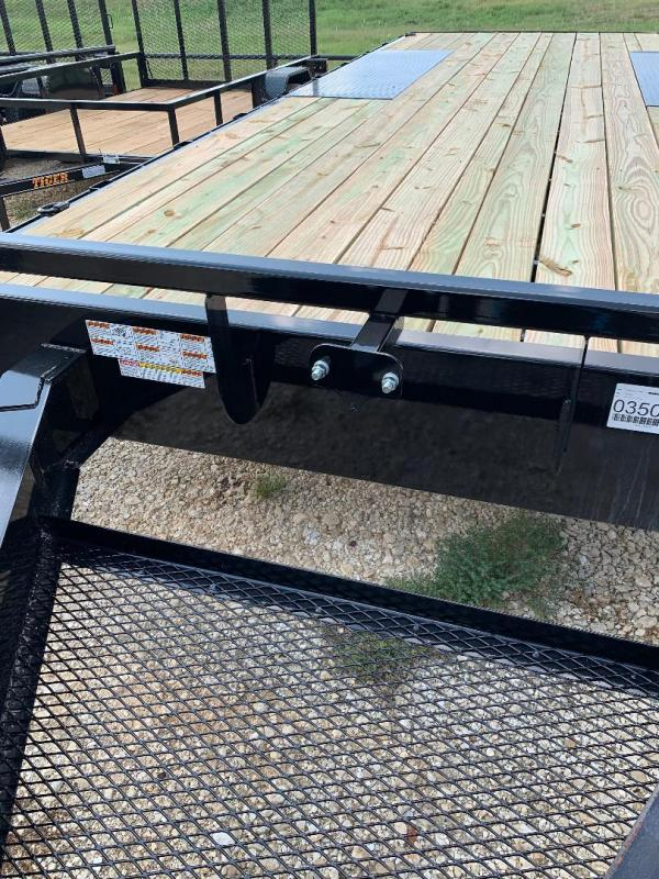 20 FT  Iron Bull DECK OVER Equipment Trailer WITH 8 FT RAMPS