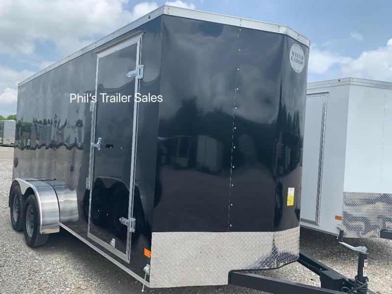 2019 Wells Cargo 7x16 + v  7 ft FT INTERIOR HT