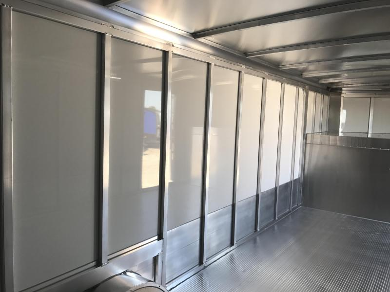32' Sundowner Commercial Grade  Gooseneck Aluminum  Cargo / Enclosed Trailer