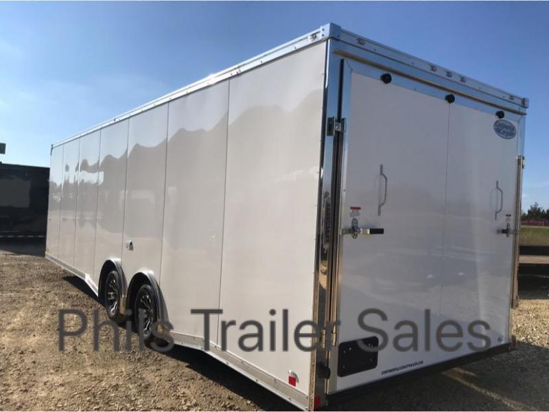 28' COMMERCIAL GRADE Continental Cargo NOS Car / Racing Trailer