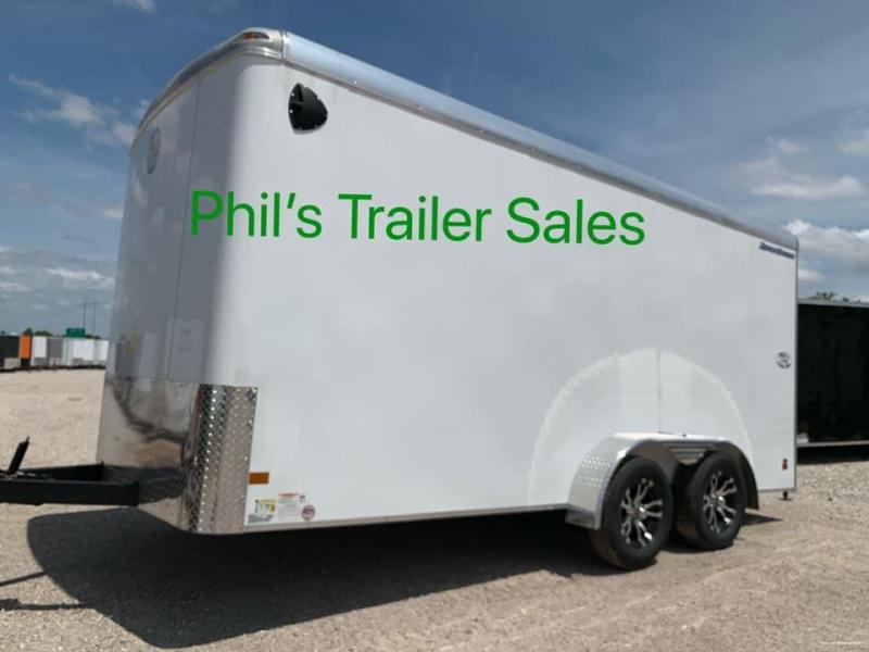 Wells Cargo WELLS CARGO 7X16 ROADFORCE ENCLOSED TRAILER Enclosed Cargo Trailer