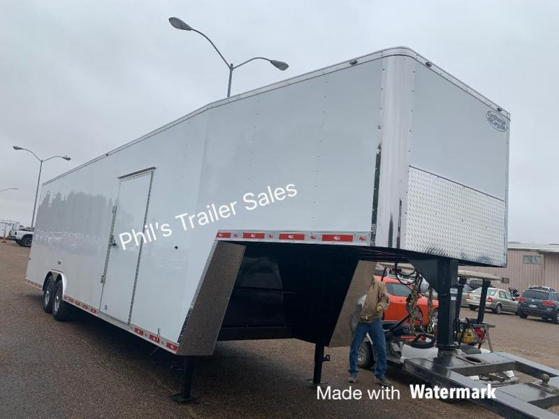 2020 Continental Cargo 36' GOOSENECK Enclosed Cargo Trailer