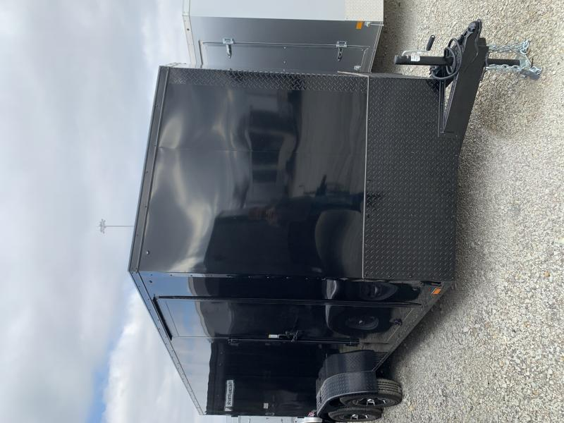 7x16 + 2 v nose Pace Blackout Cargo / Enclosed Trailer