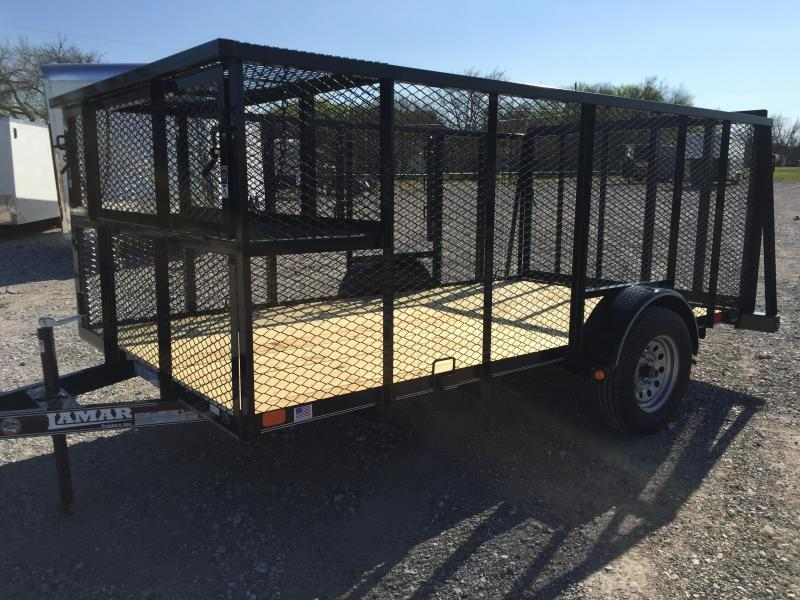 77x12 Lamar Trailers Landscape trailer Equipment Trailer