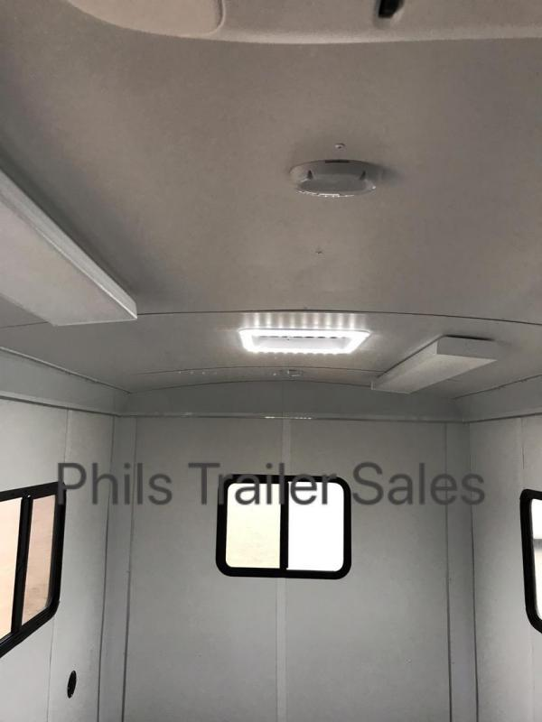 Wells Cargo 7X14 OFFICE TRAILER job site Enclosed Cargo Trailer