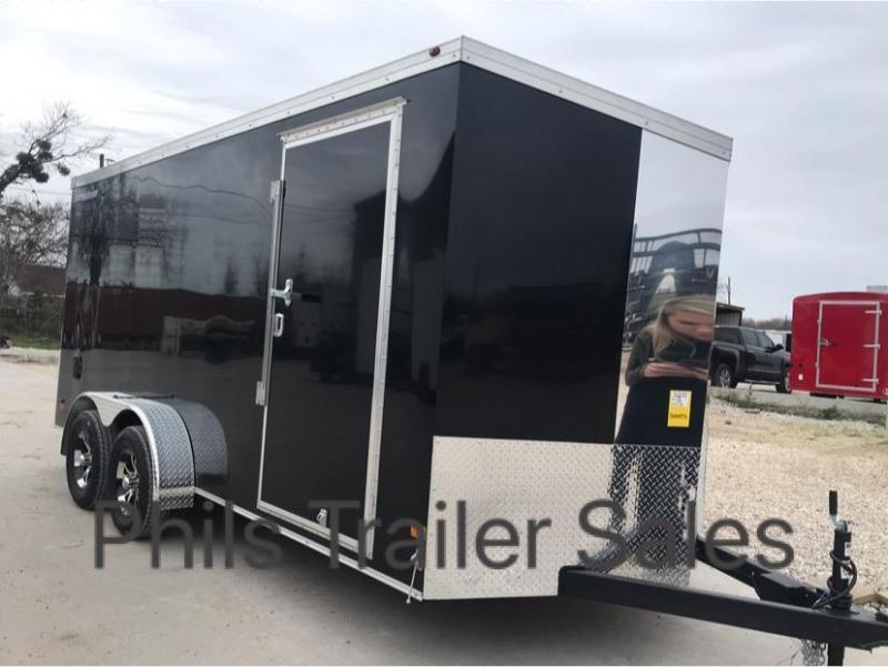 Wells Cargo 7X16 Slant Nose Enclosed Cargo Trailer