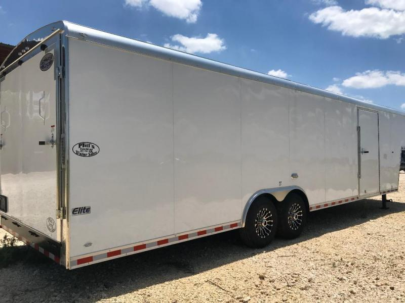 36 ' Continental Cargo GOOSENECK Enclosed Cargo Trailer ENCLOSED TRAILER