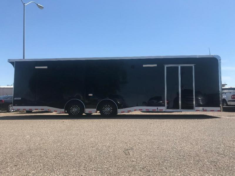 32 Continental Cargo Enclosed Race Trailer  Car Racing Trailer