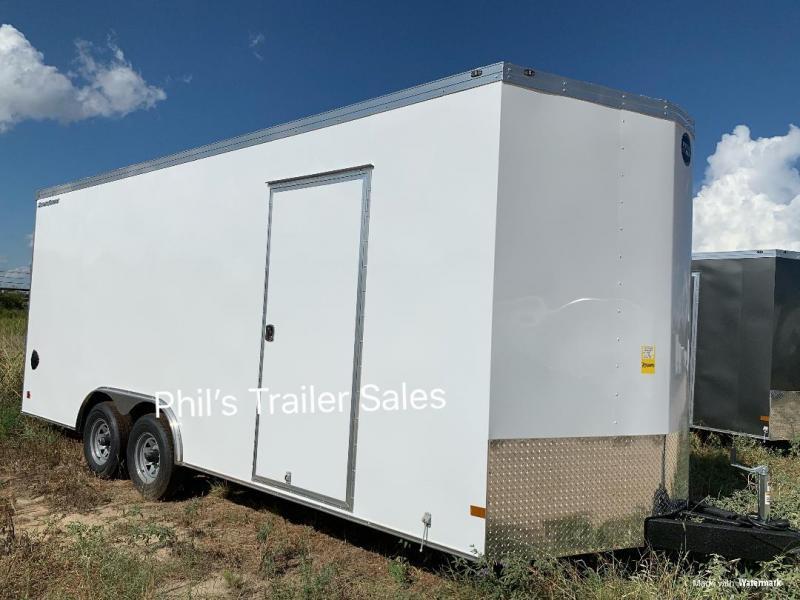 "20'  Wells Cargo ROAD FORCE 7' 6""  INTERIOR HT  WITH ESCAPE DOOR Enclosed Cargo Trailer"