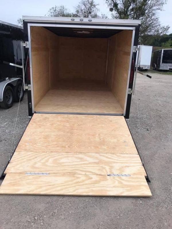 "Texas Select 7x16 2 v nose 6'6"" interior Enclosed Cargo Trailer"